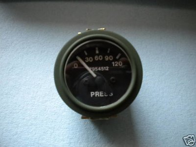 M35A2 2.5-5 TON M SERIES NEW AIR PRESSURE GAUGE 7954512