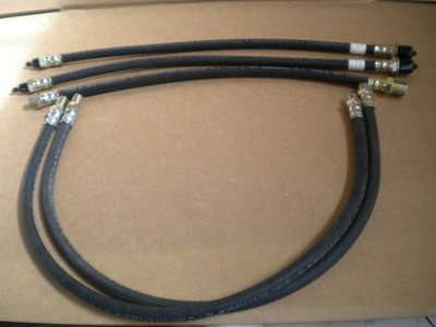 2.5 TON M35A2 NEW COMPLETE RUBBER BRAKE HOSE KIT 6X6 M35A3 M109