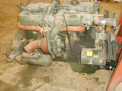 M35A2 used take out LDT-465 long block loaded with turbo electrics Continental