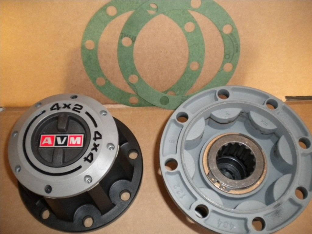 Freewheeling lockout hubs for the M35 series 2.5 ton Rockwell axles