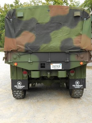 New Military spec USA made Cargo bed Camo soft top cover M813 M923 M925 5 ton