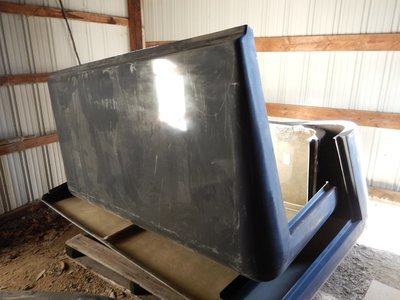 New Fiberglass hard top for the M900 series trucks 5 ton
