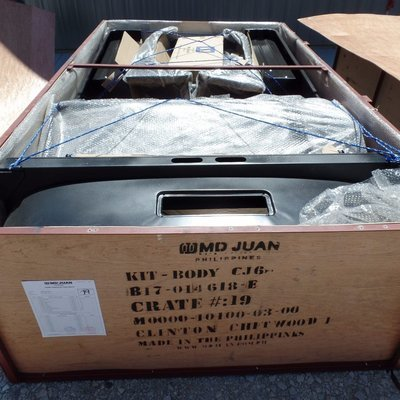 1955-1971 CJ6 BODY TUB KIT WILLYS JEEP M0000-10100-03-00 several available