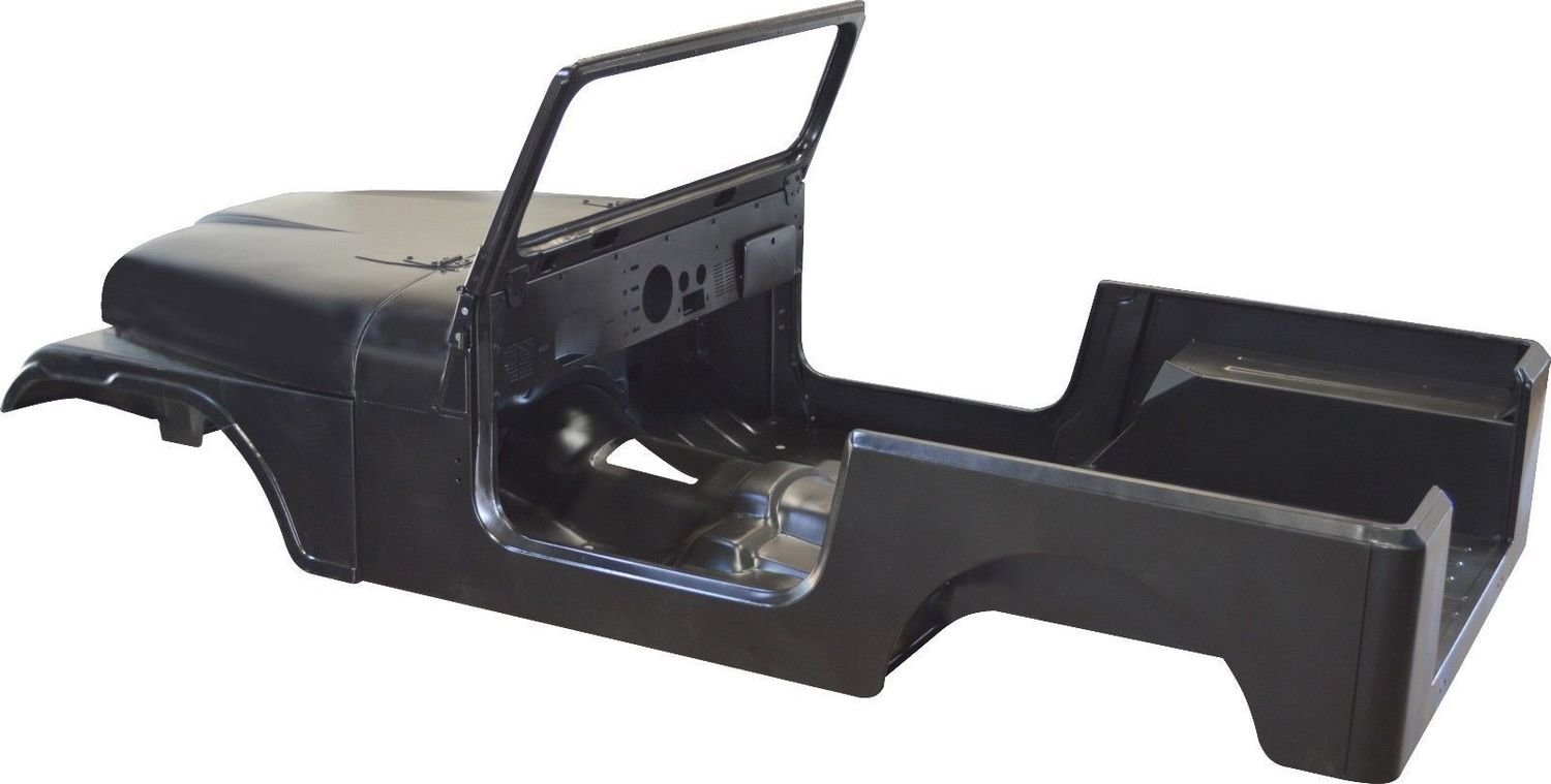 1976-1986 CJ7 BODY TUB KIT
