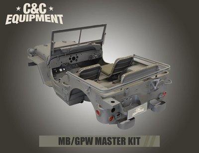 1941-1945 MB MASTER BODY TUB KIT COMPLETE WILLYS JEEP CJ2A M0000-10170-04-00 GPW