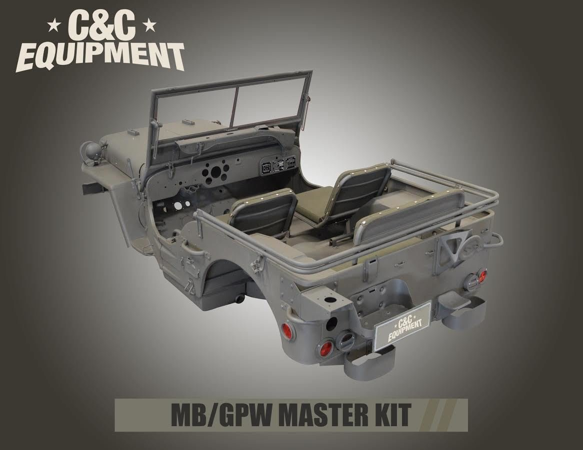 1941-1945 FORD GPW COMPLETE MASTER BODY KIT
