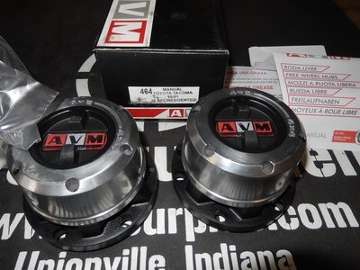 AVM 464 Toyota pick up 4x4 Tacoma Lock outs hubs 1995-2001 warn 60459