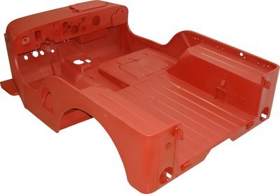1950-1952 M38 BODY TUB Only WILLYS Kaiser JEEP MBT012
