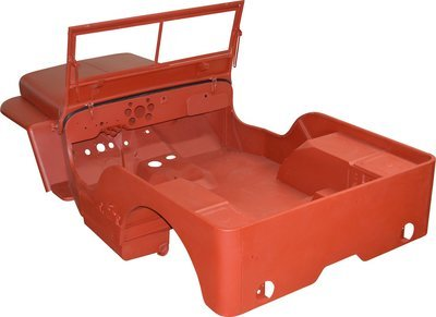 1942-43 GPW MASTER BODY TUB KIT WILLYS JEEP FORD CJ2A MBK009