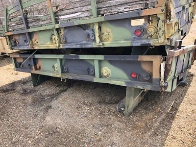 12 foot cargo bed M35A2 M35A3 and drop side