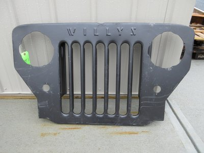 1952-1968 CJ3B Grille with Willys script