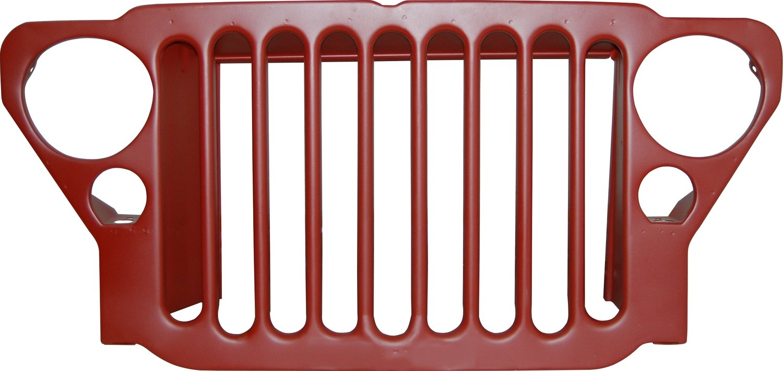 9 slat grille