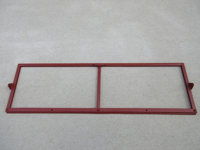 Inner windshield frame