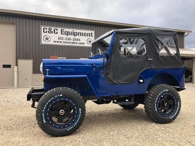 1959 Jeep CJ3B Custom Build MUST SEE!! ALL NEW!!