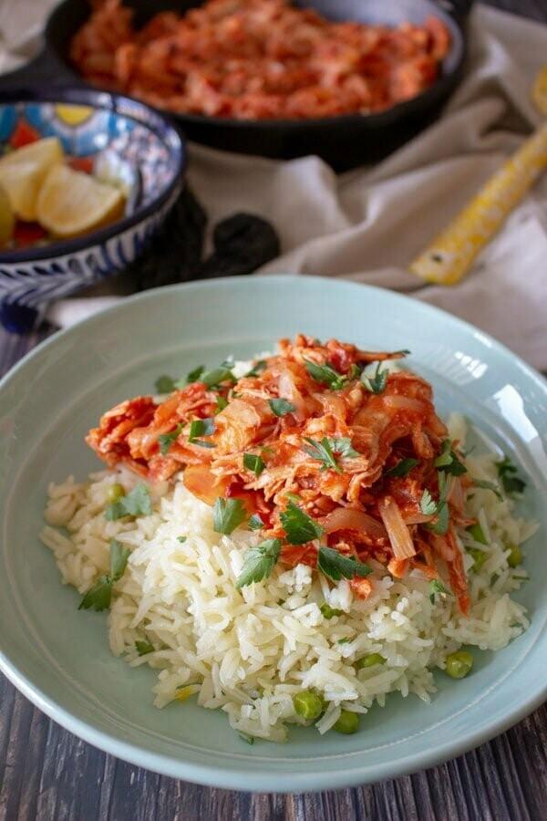 (TU) Chicken Enchilada Rice Bowl -Family Pack 5