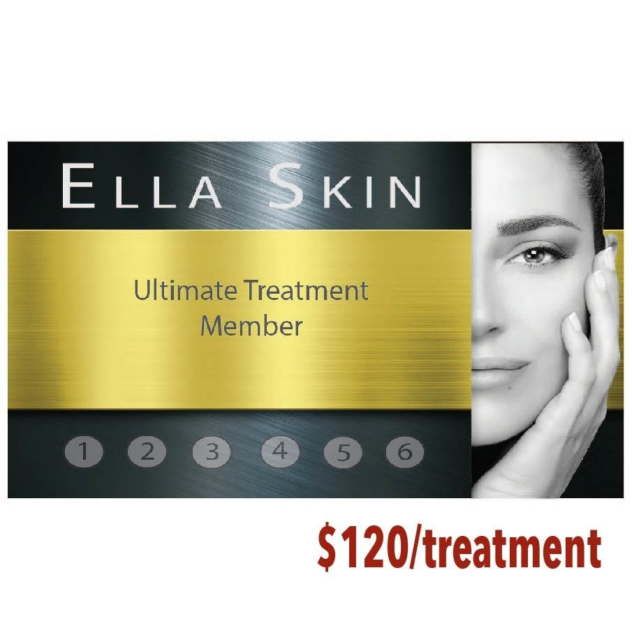 Ultimate treatment - 6 treatment package