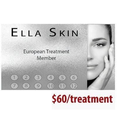 European 12 treatment package