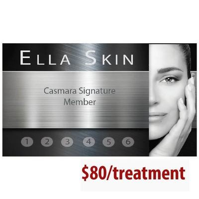 Casmara Signature Facial - 6 treatment package