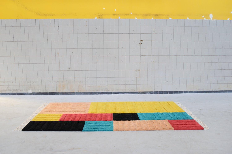 Rotterdamsche School Container Carpet by MCDW
