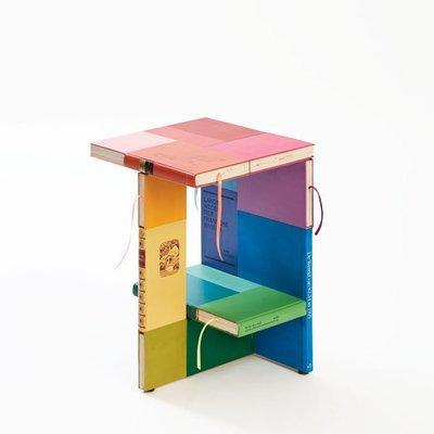 Sitetable multicolor by Jacqueline le Bleu