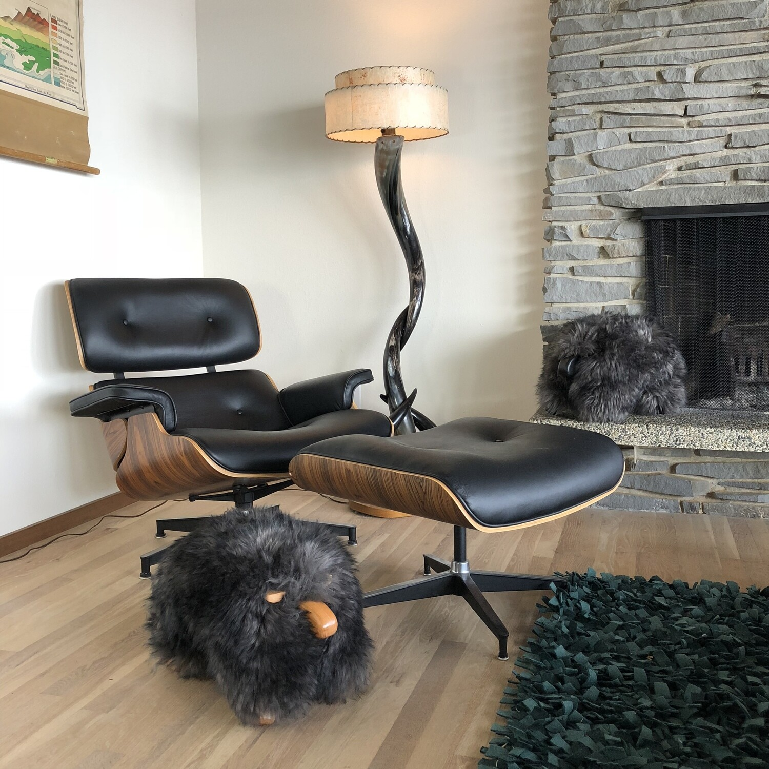 classic sheepPAL - pewter/black with clearcoat wood