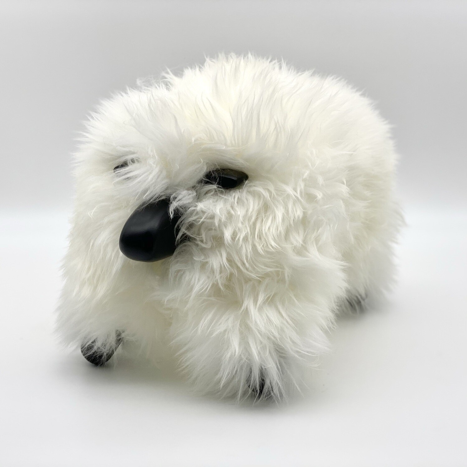 classic sheepPAL - white with black wood