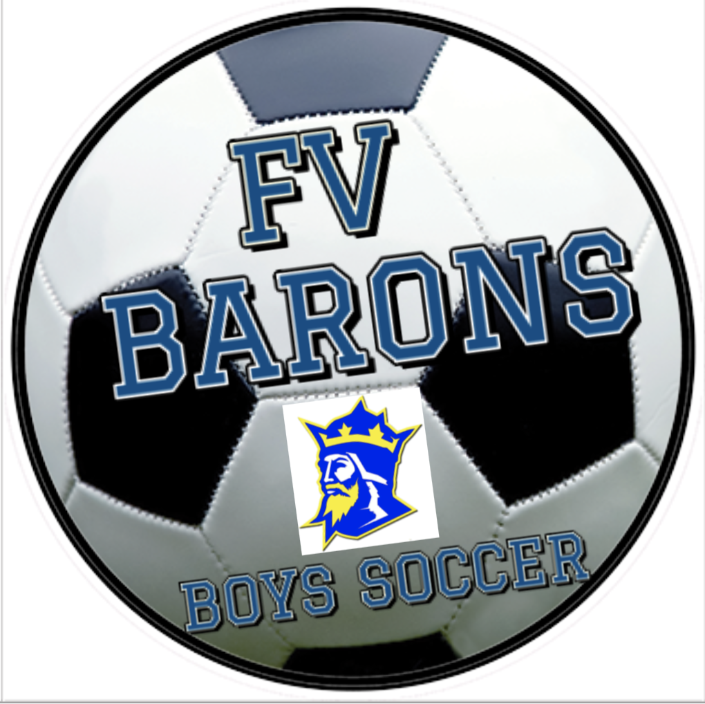 Barons Soccer Lawn Sign