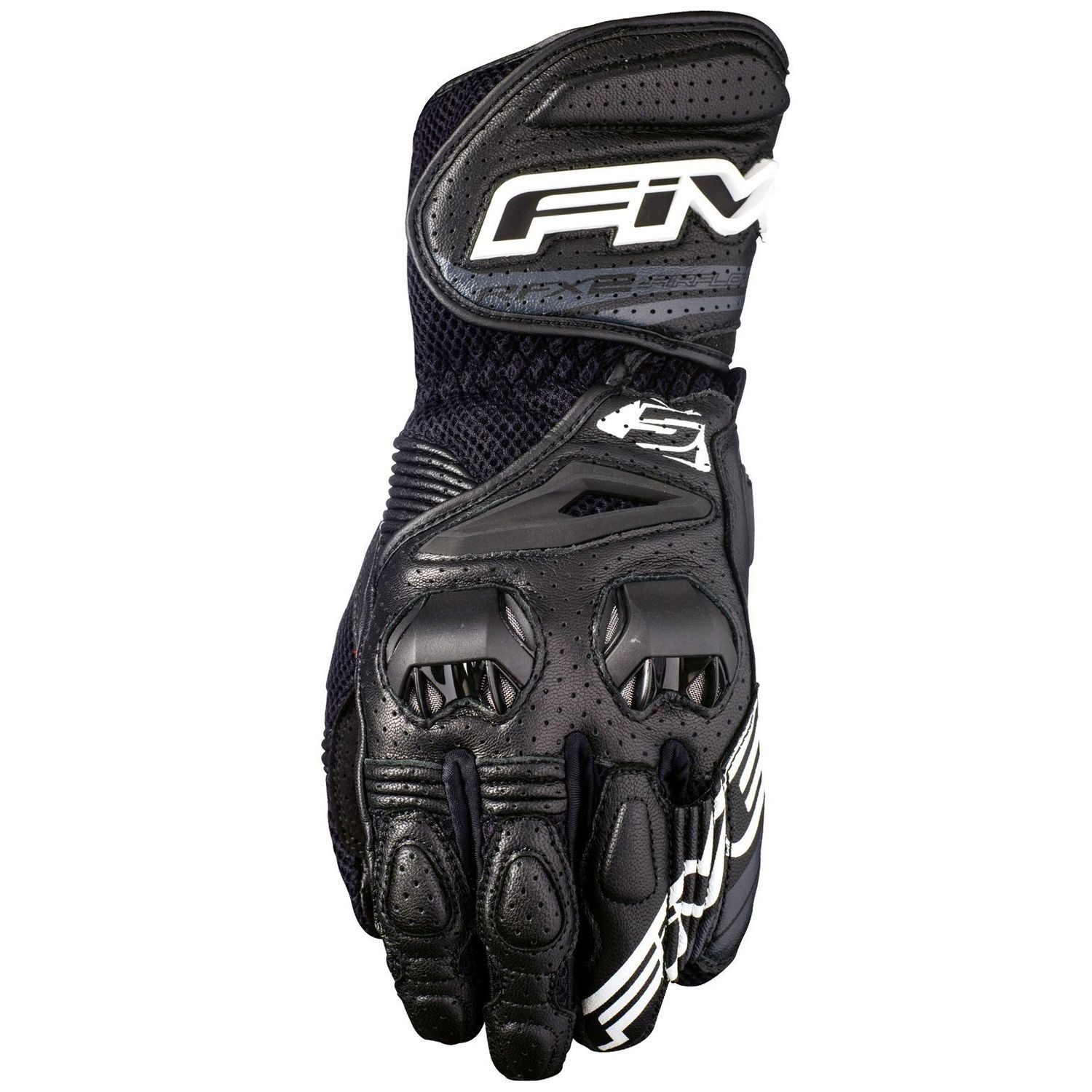 Guanti FIVE racing RFX-2 AIRFLOW BLACK