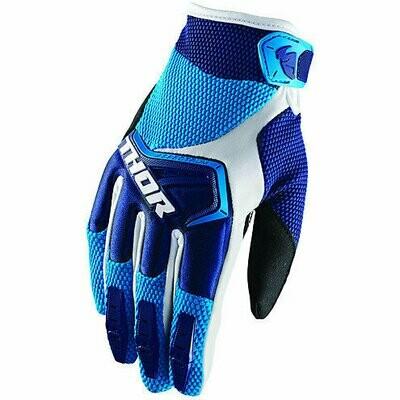 Guanti CROSS THOR mod. SPECTRUM S18 Blu/Azzurro/Bianco