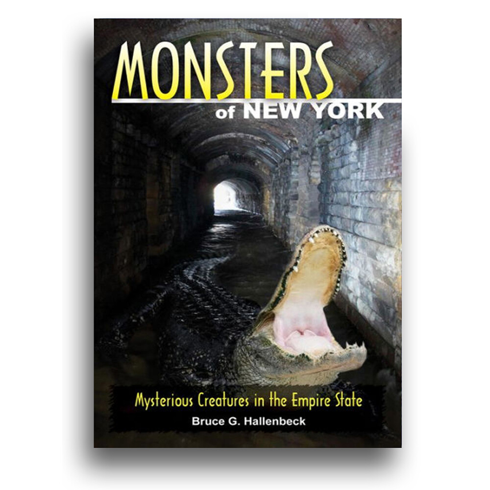 Monsters of New York Book by Bruce Hallenbeck