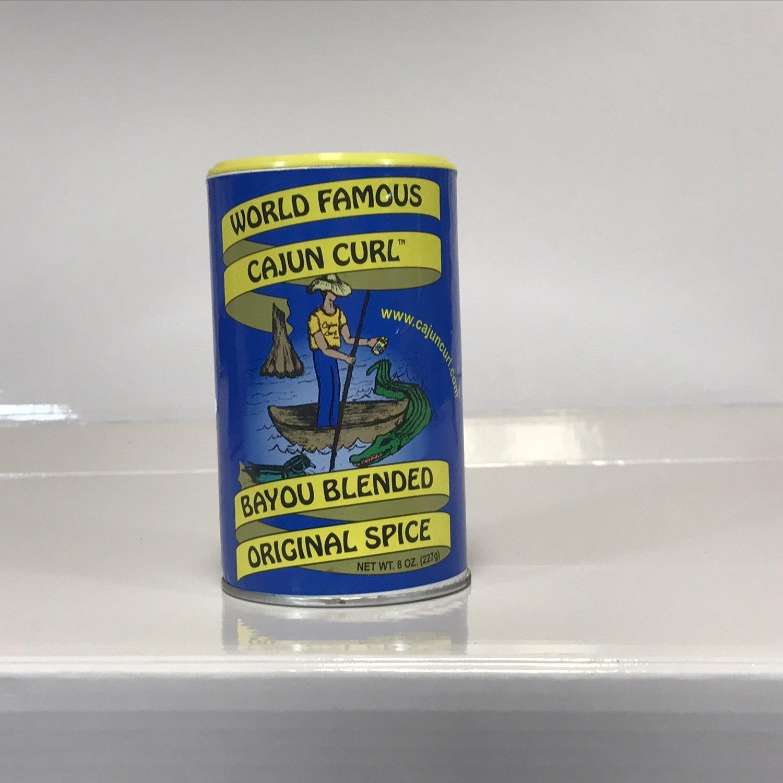 Cajun Curl Bulk 25 LB Box