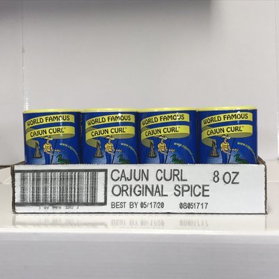 Cajun Curl 8oz Case