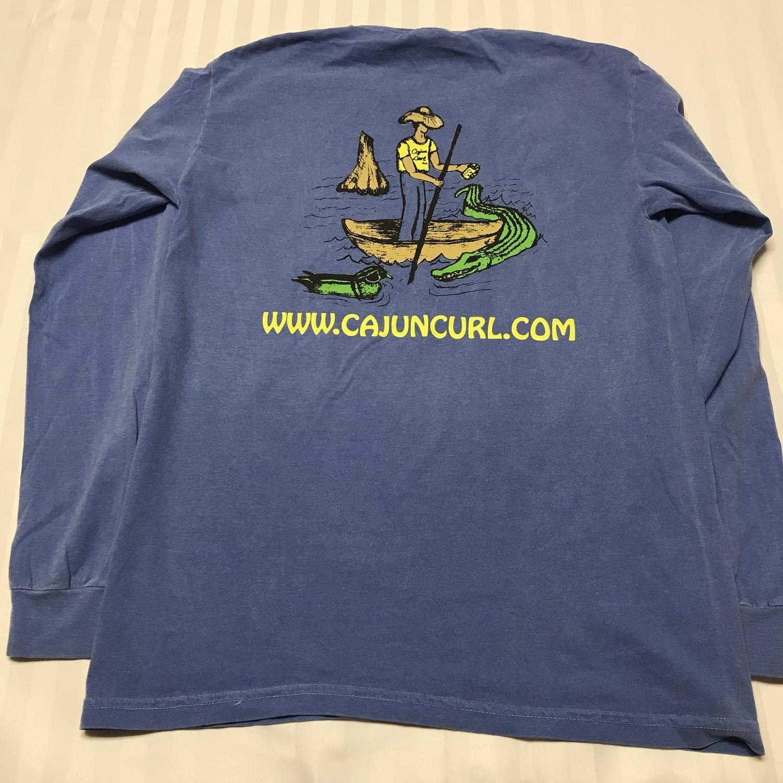 Cajun Curl Long Sleeve T-Shirt