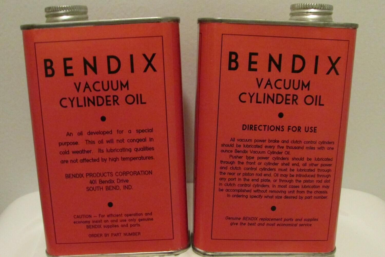 BENDIX Vacuum Cylinder Oil