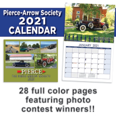 2021 Pierce-Arrow Wall Calendar