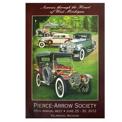 2012 Pierce-Arrow Annual Meet Poster - Kalamazoo, MI
