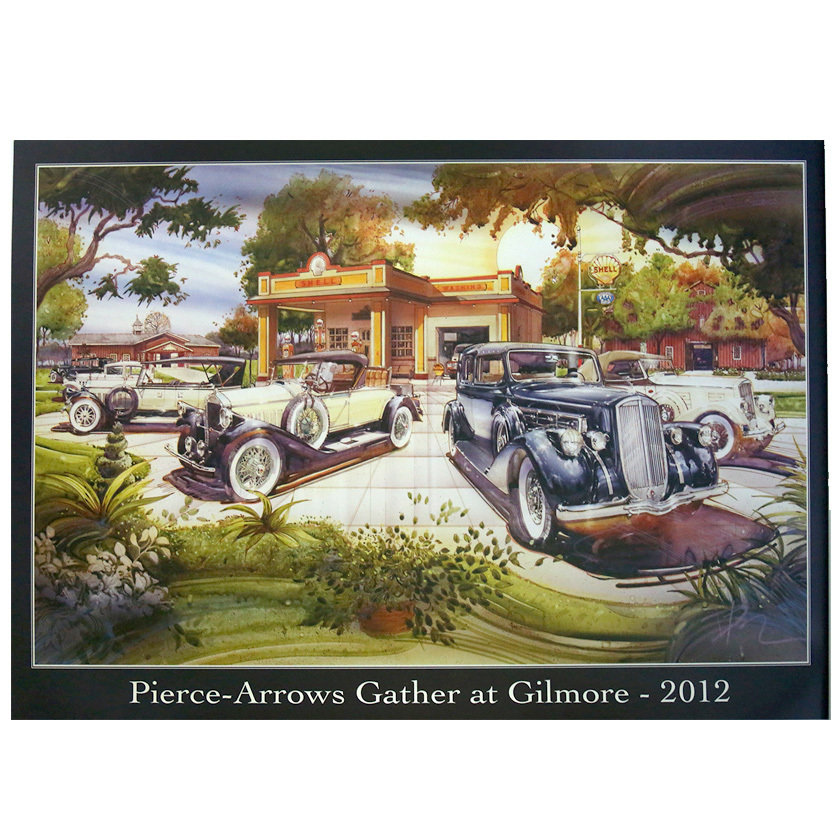 2012 Pierce-Arrow Museum Poster - Hickory Corners, MI