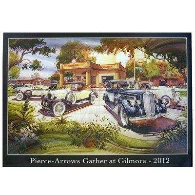 2012 Pierce-Arrow Museum Poster - Hickory Corners, MI