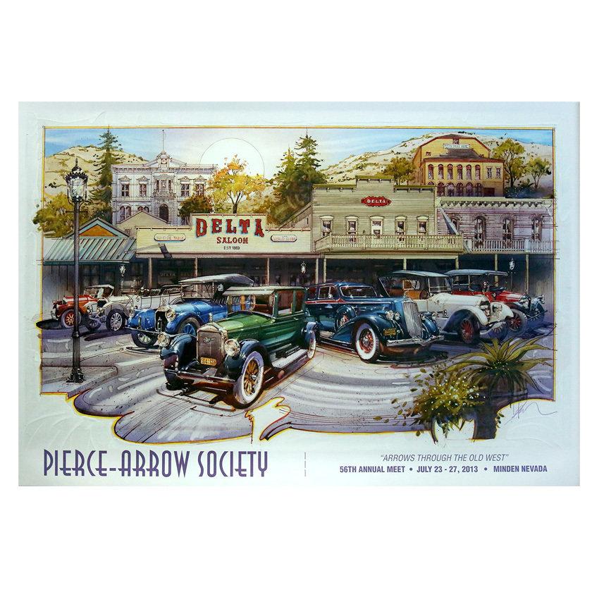 2013 Pierce-Arrow Annual Meet Poster - Minden, NV