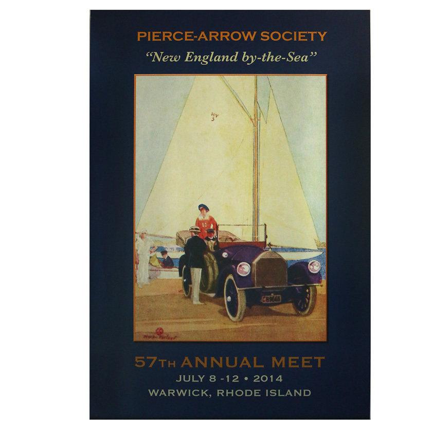 2014 Pierce-Arrow Society Annual Meet Poster - Warwick, RI