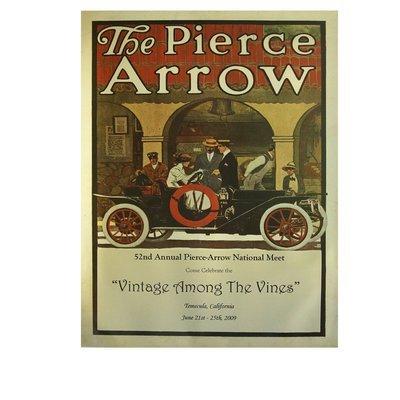 2009 Pierce-Arrow Museum Poster - Temecula, CA