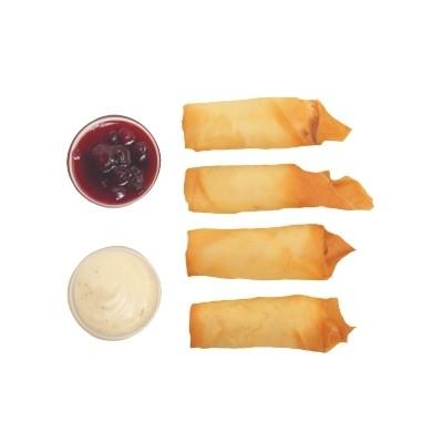 Спринг роллы с креветками и сливочным сыром