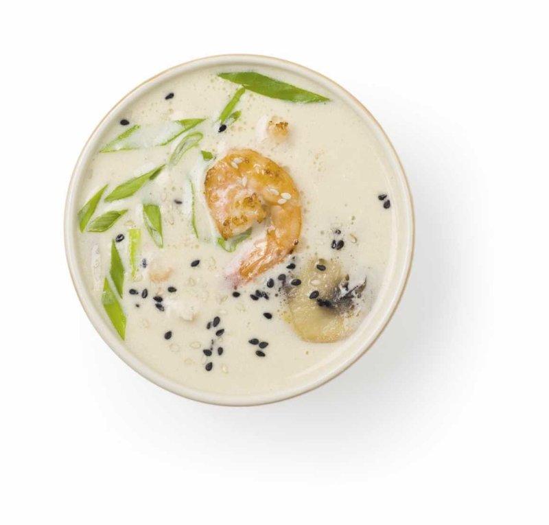 Кокосовый суп
