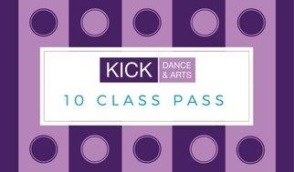 Adult Classes 10 class pass 00010