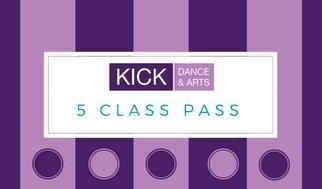 Adult Classes 5 class pass