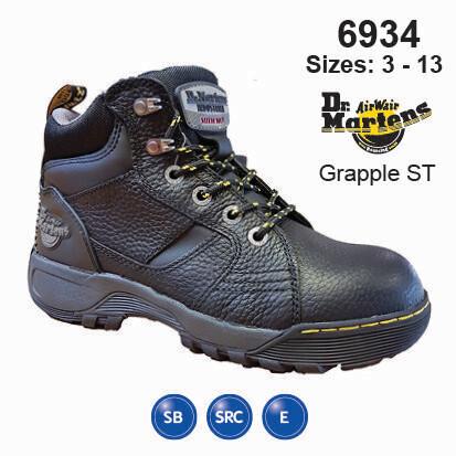 grapple steel toe