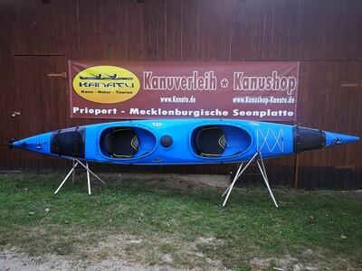 Prijon Excursion EVO blau gebraucht Kajak Set 2020