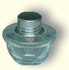 Weinflasche, Glas, 5,5 cm hoch