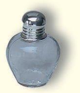 Weinflasche, Glas, 8 cm hoch, 6 cm breit