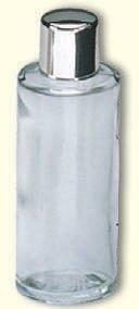 Weinflasche, Glas, 15 cm hoch